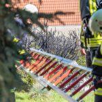 Unkraut verbrannt: Wohnhausbrand in Blankenhain knapp verhindert