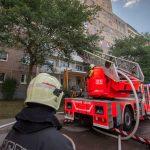Zwei Personen bei Wohnungsbrand in Erfurt verletzt