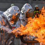 Ernstfall geprobt: Gasumfüllstation brennt in Südthüringen