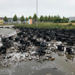 200 Kästen Bier blockierten Güterverkehrszentrum in Erfurt