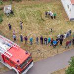 Spatenstich für den Erweiterungsbau bei der Feuerwehr Tannroda