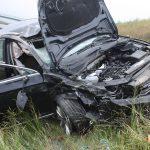 PKW überschlagen: Auffahrunfall auf A9 bei Dittersdorf