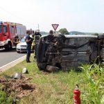 Auto überschlagen: Frau nach Unfall bei Günterode verletzt