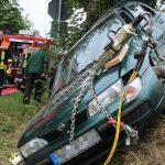 Mutti missachtet die Vorfahrt: Drei Schwerverletzte bei Schleiz