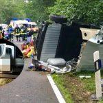 Person aus Kleinbus stirbt bei schwerem Unfall im Eichsfeld