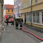 Brand auf leerstehendem Firmengelände in Gotha