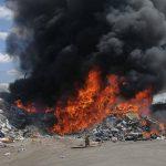 Brand auf Mülldeponie bei Apolda beschäftigt Wehren