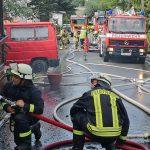 Fünf Personen bei Scheunenbrand im Landkreis Sonneberg verletzt
