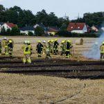 Feuerwehren löschen zwei Feldbrände in Saalfeld und Sonneberg
