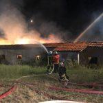 Zeugen nach Scheunenbrand im Landkreis Nordhausen gesucht