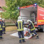 Starkregen fordert die Freiwillige Feuerwehr Rottenbach
