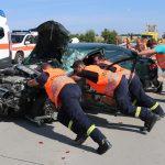 Verkehrsunfall mit mehreren Fahrzeugen auf A9 bei Schleiz