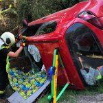 Rentner-Ehepaar verunglückt: Mann bei Bad Lobenstein eingeklemmt