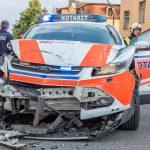 Notärztin verunglückt: Transporter überschlägt sich in Weimar