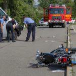 Zustand kritisch: Motorradfahrer bei Weimar übersehen