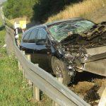 BMW-Fahrer unaufmerksam: Opel überschlägt sich auf A9