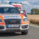 71-Jähriger mit Motorrad bei Blankenhain schwer gestürzt