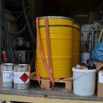 Gefahrgutlaster auf A71 gestoppt: Ladung nicht ordnungsgemäß gesichert