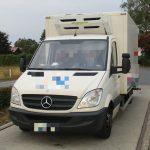 Transporter auf der A9 bei Dittersdorf mehr als doppelt so schwer wie erlaubt