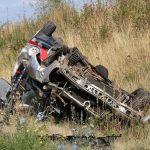 Mercedes überschlug sich mehrfach: 71-Jähriger aus Erfurt stirbt in Hessen