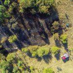 Motorkettensäge abgelegt: Ein Hektar großer Flächenbrand bei Eishausen