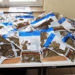 Waffen, 12 kg Marihuana und 80 g  Crystal bei Saalfeld sichergestellt