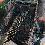 Einsturzgefährdet: Scheune bei Brand im Weimarer Land zerstört