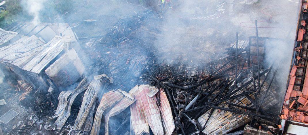 Brand im Landkreis Hildburghausen fordert drei Verletzte und ein Todesopfer