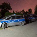 Kripo und Sprengstoffexperten nach Drogenfund in Hermsdorf im Einsatz