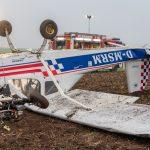 Kleinflugzeug nahe Weimar abgestürzt: Insassen überleben Horrorcrash