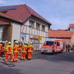 Paket sorgte für Großeinsatz in einem Hermes-Shop in Erfurt-Möbisburg