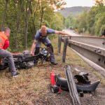 Gegen Leitplanke gefahren: Kradfahrer stirbt bei Unfall im Kyffhäuserkreis