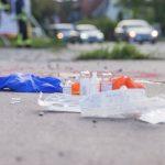 Radfahrer ignoriert offenbar Rotlicht in Mühlhausen und wird von Lkw erfasst