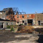 Brand in Scheune griff auf Wohn- und Stallgebäude im Landkreis Greiz über