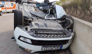 Auto überschlug sich auf A71: Feuerwehr lobt vorbildliche Rettungsgasse