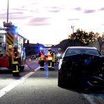 Überholvorgang missglückt: Opel fährt in LKW auf der A38 bei Heiligenstadt