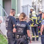 Unbekannte Substanz fordert 11 Verletzte: Großeinsatz von Einsatzkräften in Weimar-West