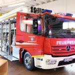 Gefahrgutzug des Landkreises Eichsfeld stellt neuen Gerätewagen-Gefahrgut in Dienst