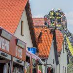 Feuerwehr findet toten Mann bei Brand einer Dachgeschosswohnung in Gotha