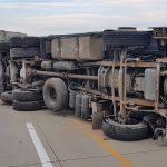 LKW-Unfall auf der A4 im Landkreis Greiz sorgt für Verkehrsbehinderungen