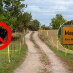 Nazi-Rock findet nicht in Magdala statt: Dieser Weg gehört der Stadt