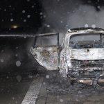 Insassen können sich retten: PKW brennt auf A9 bei Rodaborn aus