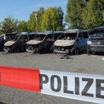 Brandanschlag auf 15 Polizeifahrzeuge in Erfurt  aus 2013 aufgeklärt