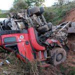Gülle-Wagen stürzt ab: Eingeklemmter Fahrer stirbt bei Unfall im Eichsfeld