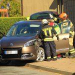 Auto kracht in Hauswand: Zwei Menschen bei Sondershausen schwer verletzt