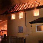 Zwei Wohnhäuser und eine Scheune im Wartburgkreis abgebrannt