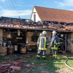 Kirmes am Wochenende verhindert heute Großbrand in Rittersdorf