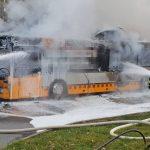 Foodtruck brennt an Thüringer Landesgrenze komplett aus