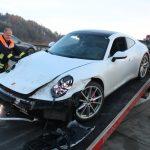 128.000 Euro Schaden bei Porsche-Unfall auf A9 bei Schleiz