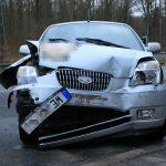 Junge Mutti und Kind bei Unfall auf B4 bei Sondershausen verletzt